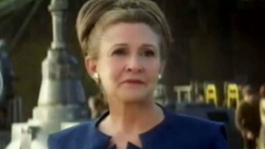 A look back at the life and career of Carrie Fisher