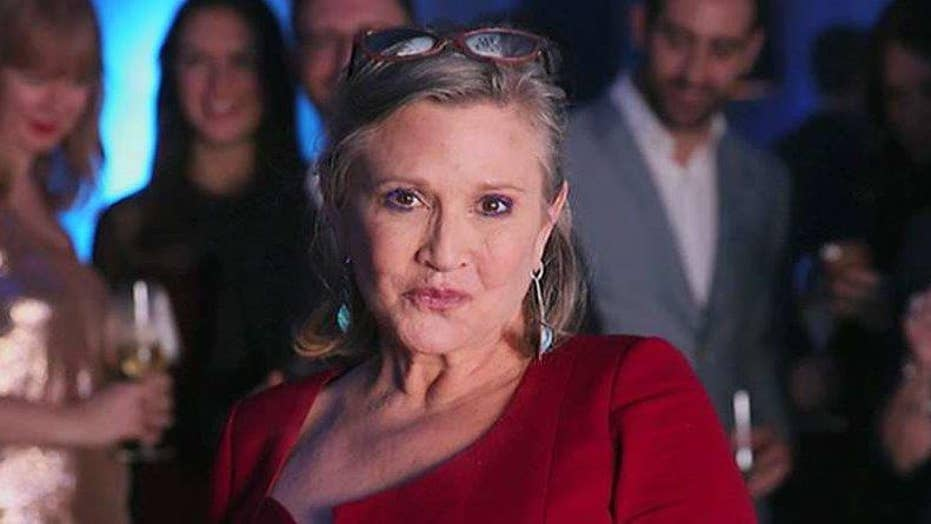 Carrie Fisher's 'Star Wars' costars react to her death