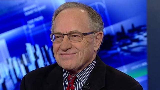 Dershowitz: Peace process in Israel has been set back years