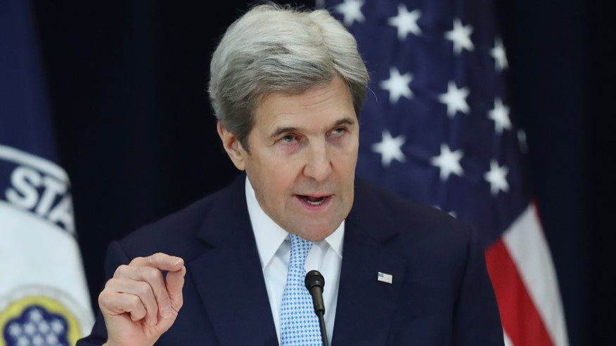 Secretary of state remarks on Mideast peace process as tensions simmer between U.S. and Israel