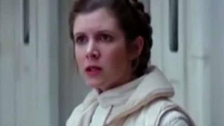 Tributes continue pouring in for 'Star Wars' actress