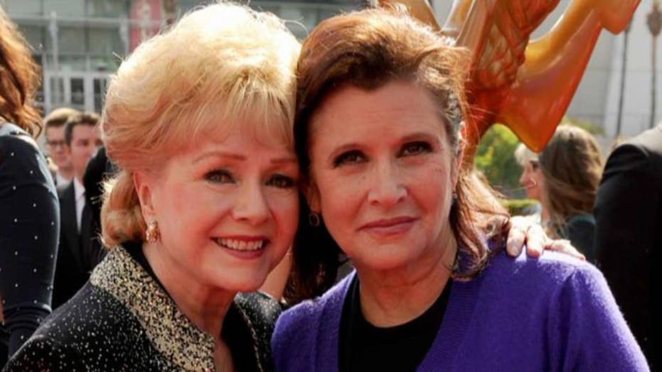 Stars remember actress Carrie Fisher