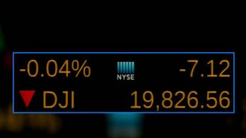 Dow struggling to reach 20,000