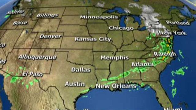 National forecast for Thursday, December 29