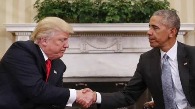 Is Obama handcuffing the Trump administration?