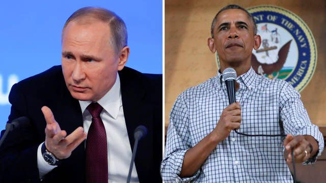 Obama admin punishes Russia for trying to meddle in election