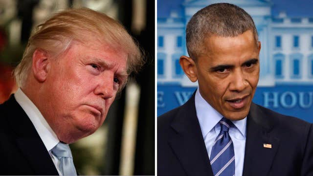 Trump takes on Obama's foreign policy moves on Twitter