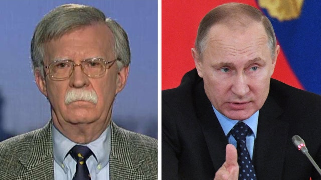 John Bolton reacts after US imposes sanctions against Russia