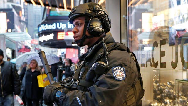 Unprecedented security in Times Square for New Year's Eve