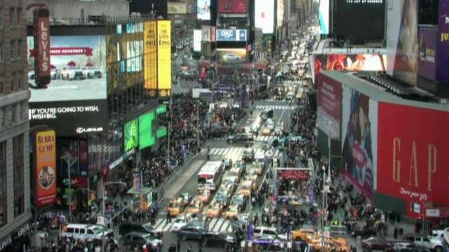 Inside New Year's Eve security in Times Square