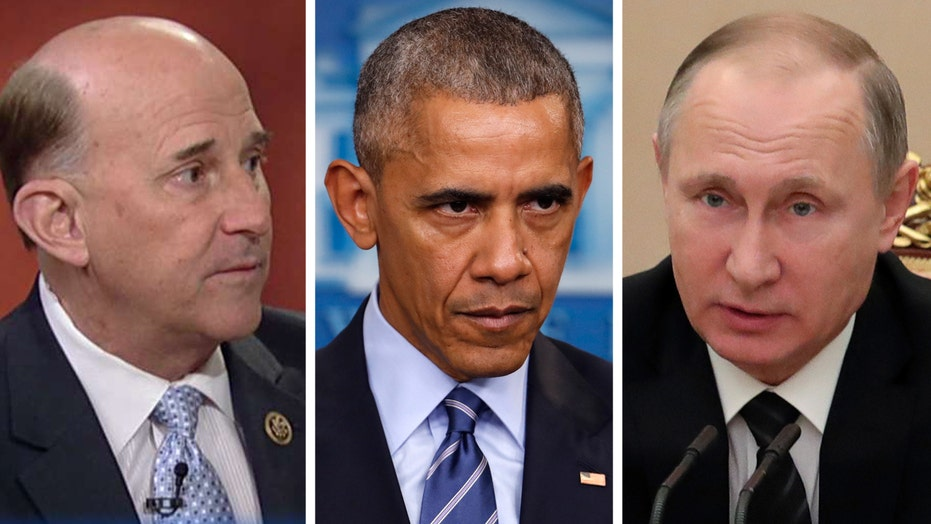 Rep. Louis Gohmert reacts to new sanctions against Russia