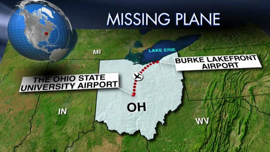 Coast Guard searching for plane that vanished over Ohio