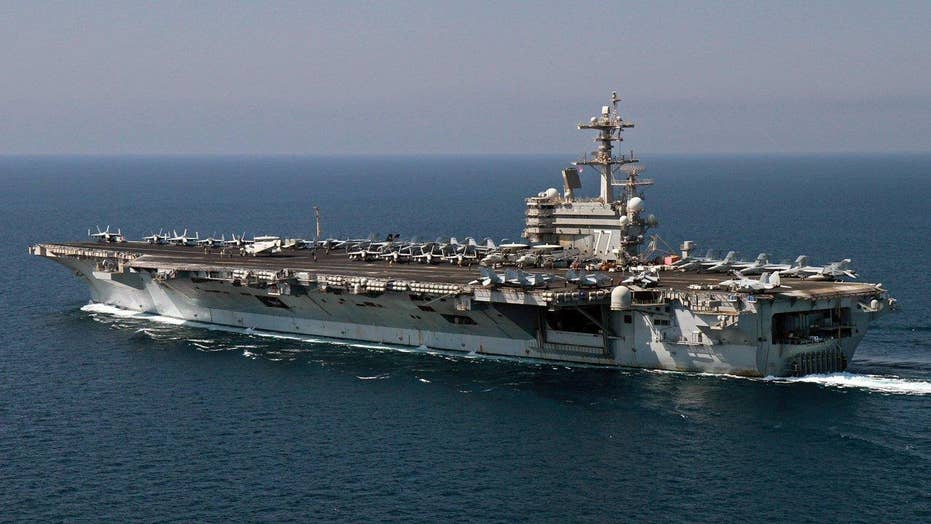 US Navy warship returns to ISIS fight