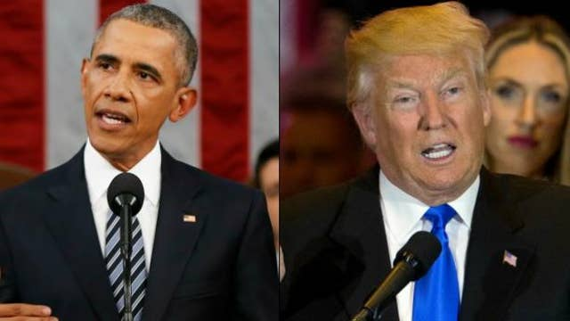 Tensions rise between Trump and Obama over Russia