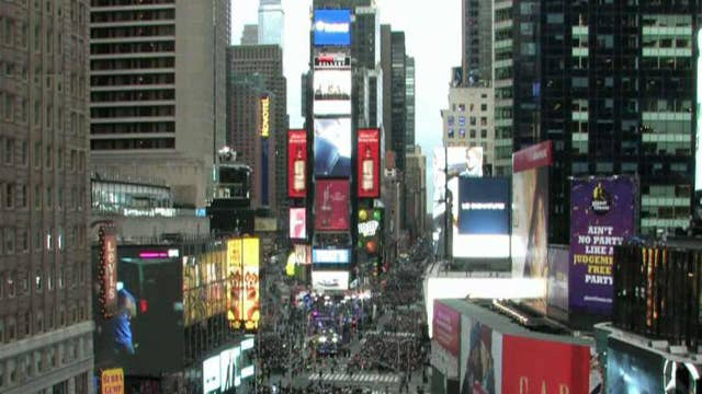NYPD increase security for Times Square NYE celebrations
