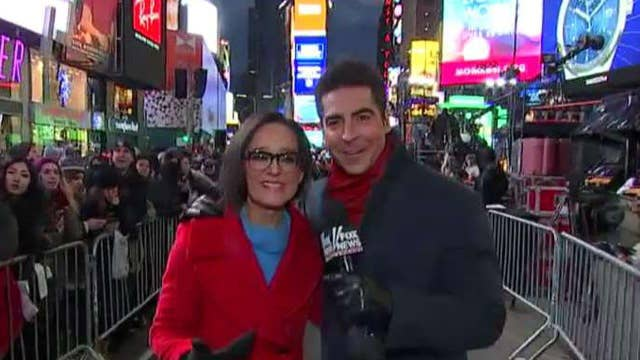 New Year's Eve with Kennedy and Jesse Watters