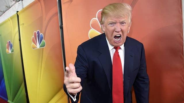 Trump vs. the celebrities