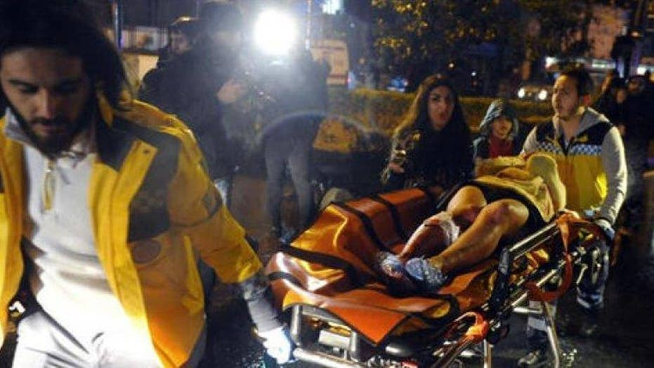 Manhunt underway for Istanbul terrorist