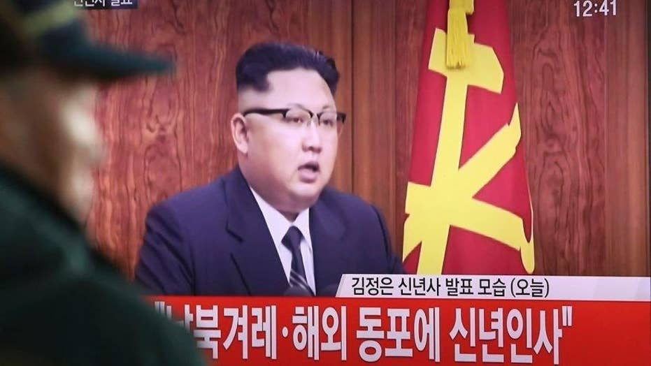 North Korea's leader hints of long-range missile test launch