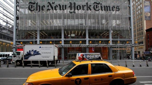 Editor: N.Y. Times pushes 'narrative'