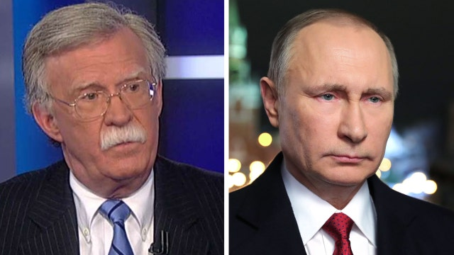 Bolton: Russia relations could improve - depends on Putin