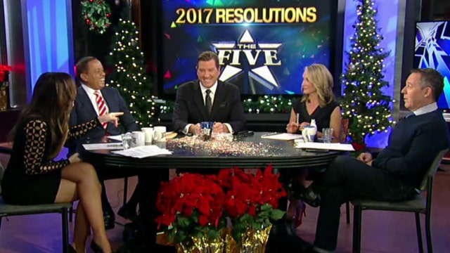 'The Five' reveal their New Year's resolutions