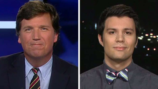 Tucker vs. student who says Trump shouldn't be given chance