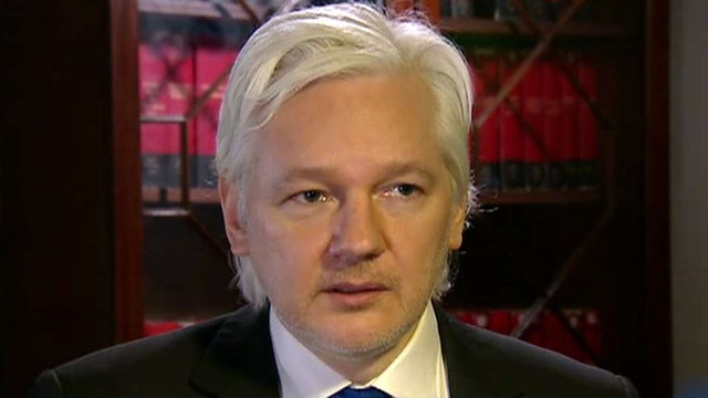 Assange insists Russia not linked to election hacks