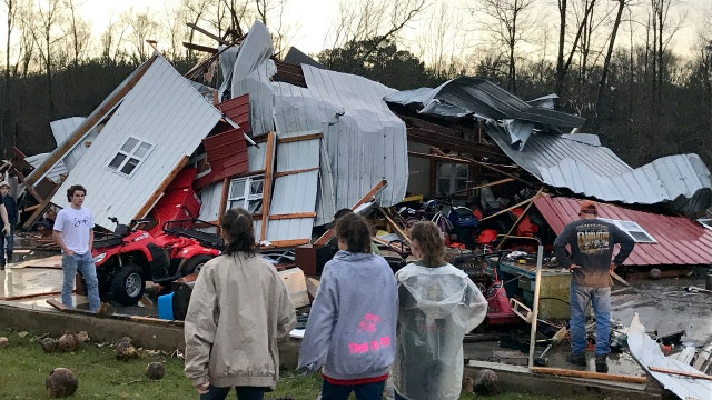 Deadly storms sweep through Southern states