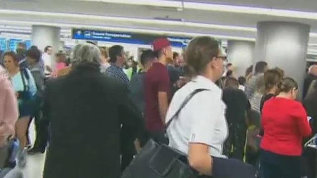 Fallout from US Customs outage hit airports nationwide