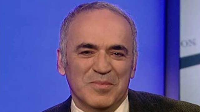 Kasparov: No more politics on Putin, Russian hack