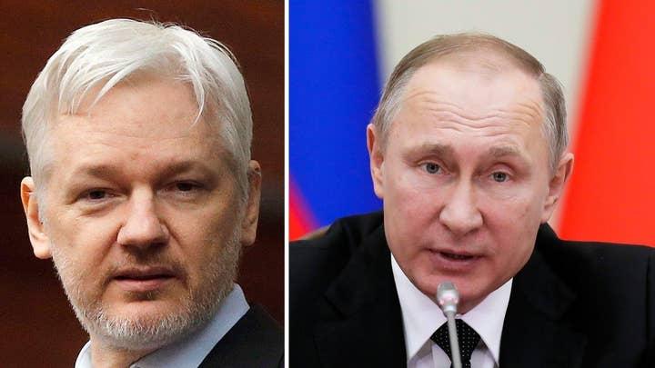 Assange tells Fox Russia was not behind DNC documents leak