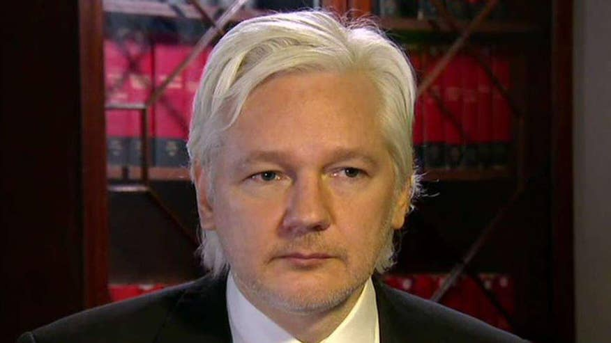 On 'Hannity,' WikiLeaks founder says nothing in the report says that any information was given to them