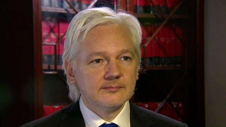 WikiLeaks founder speaks out in an exclusive 'Hannity' interview