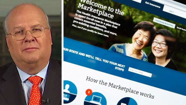 Karl Rove: Both sides face big challenges on ObamaCare