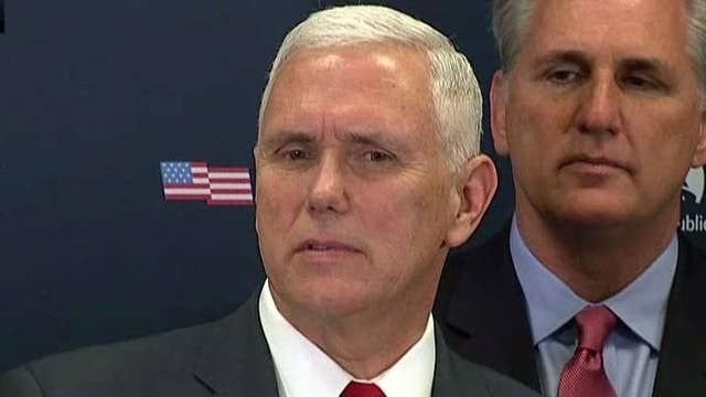 Pence on Capitol Hill: 'We're going to keep our promises'