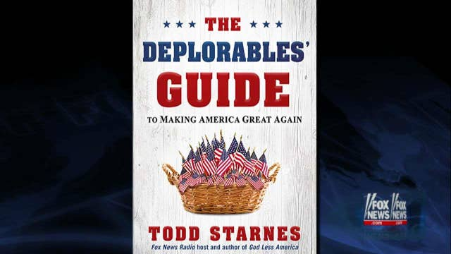 New Starnes book salutes 'Deplorable Americans'