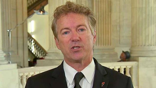 Sen. Paul: Repeal ObamaCare and replace immediately