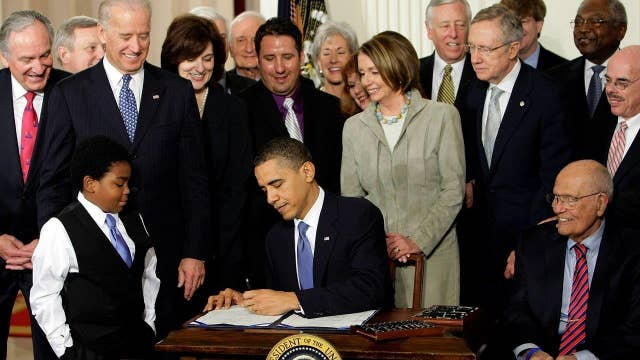 A look back at ObamaCare's tumultuous history