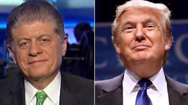 Napolitano: Trump is looking for an originalist like Scalia