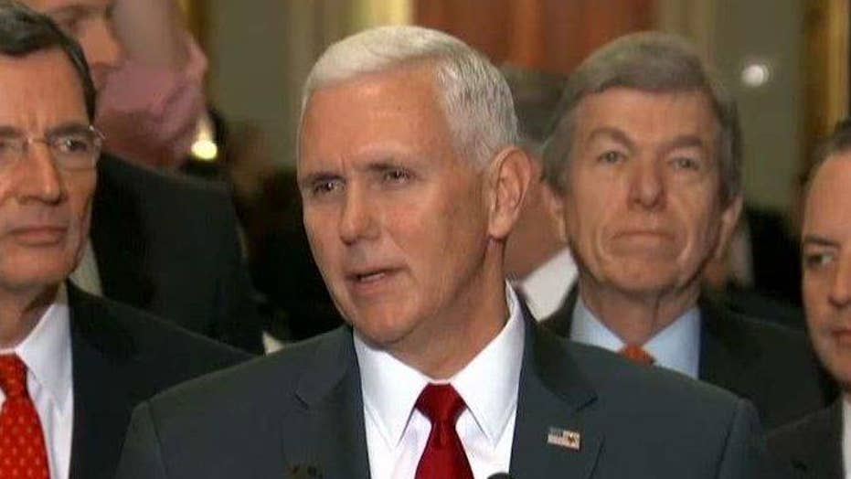 Pence: Repealing Obamacare is first order of business