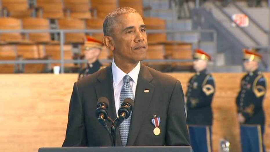 Obama: The US military reminds us that we are one team
