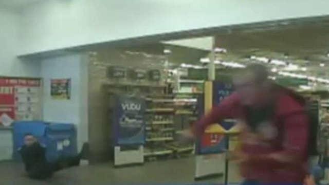 Arizona officers survive shooting ambush at Walmart