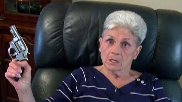 Pistol-packing granny turns tables on robber