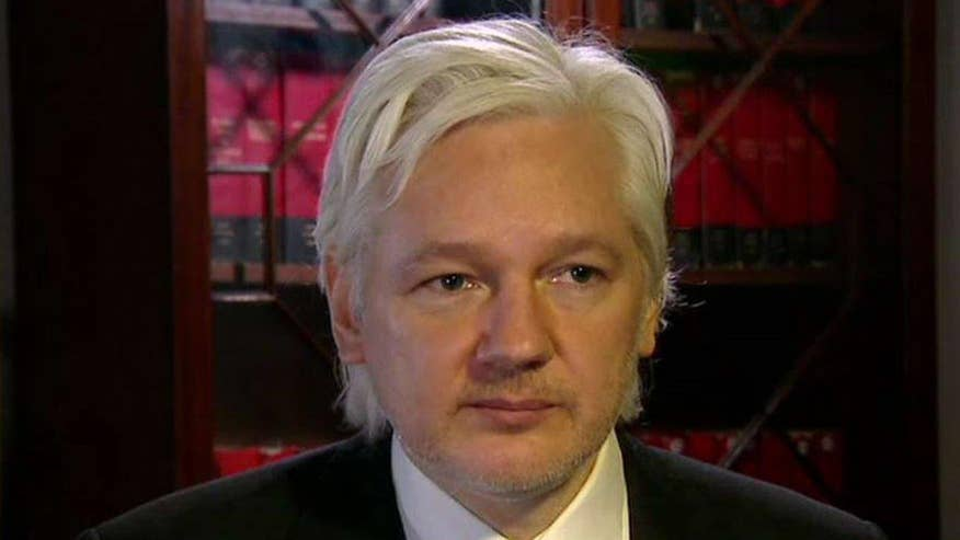 WikiLeaks founder discusses his efforts to bring transparency to governments on 'Hannity'