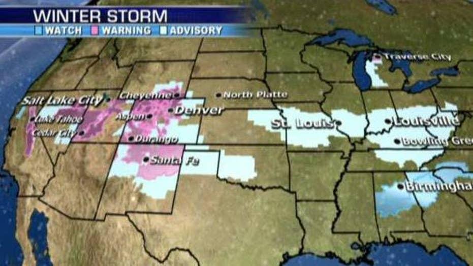 National forecast for Thursday, January 5