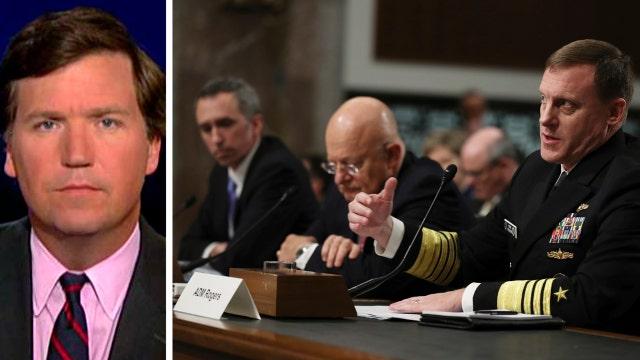 Tucker Carlson on the Senate hearing of top Intel. chiefs