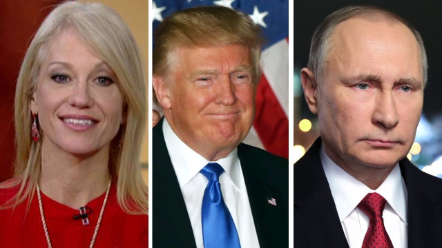 Kellyanne Conway: Why would Russia want Trump to win?