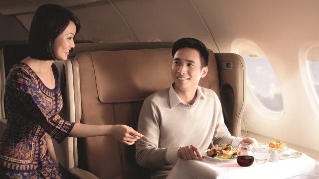 First class air travel reaches new heights