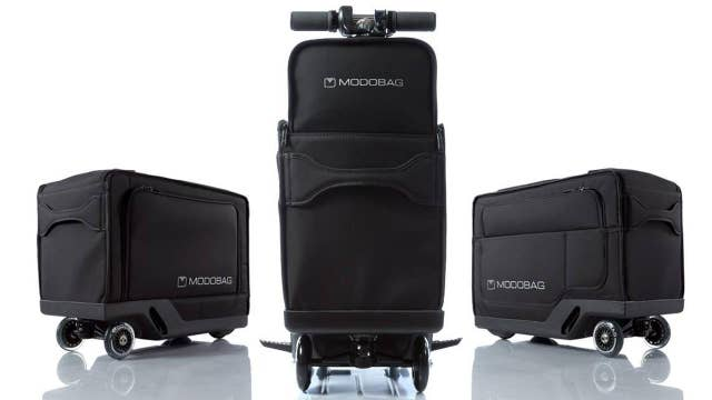 CES: Motorized luggage can transport you